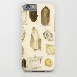 Quartz Crystals iPhone Case