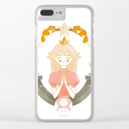 Dear Mario Clear iPhone Case