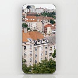 Prague Rooftops iPhone Skin