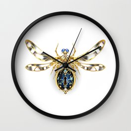 Mechanical Insect ( Steampunk ) Wall Clock