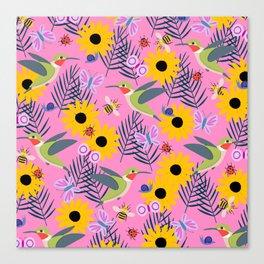 Caitlin Loves Nature Canvas Print