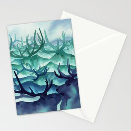 Herding Mountains Stationery Cards