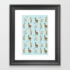 Llama-Rama! Framed Art Print