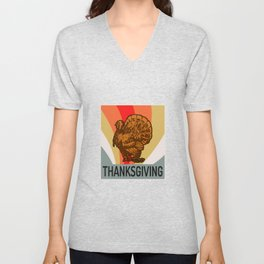 THANKSGIVING Unisex V-Neck