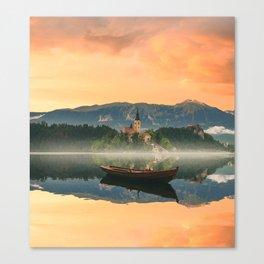 Golden Getaway Canvas Print