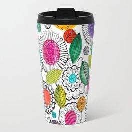Floral Fun Travel Mug