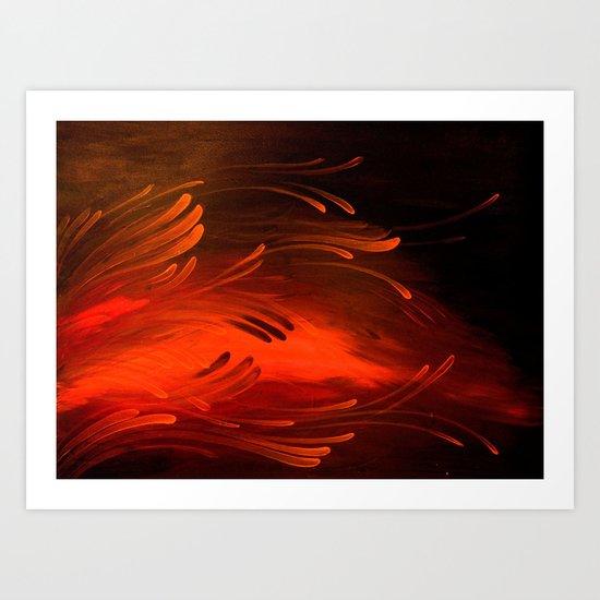 Embers Art Print