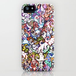 """""""Silliness"""" by RenPenCreations iPhone Case"""