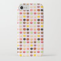 macaron iPhone & iPod Cases featuring Macaron Love by Electric Avenue