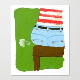 Wind Breaker Canvas Print