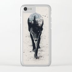 Up in the Woods Clear iPhone Case