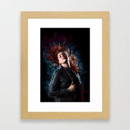 Endeavor Blue Framed Art Print