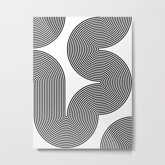 concentric 02 Metal Print