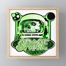 The Space Explorer Framed Mini Art Print