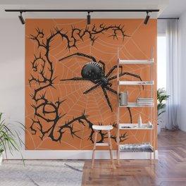 Briar Web- Halloween Wall Mural