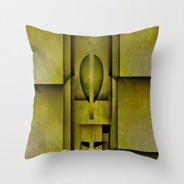 Rooftopper Of Southmarch Throw Pillow
