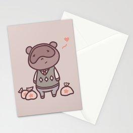 Raccoon Animal Villager   Illustration   Tom Stationery Cards