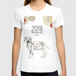 Year of the Dog - Dalmatian T-shirt