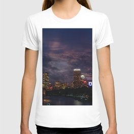 Boston at night T-shirt