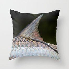 Puerto Rican Tarpon Throw Pillow