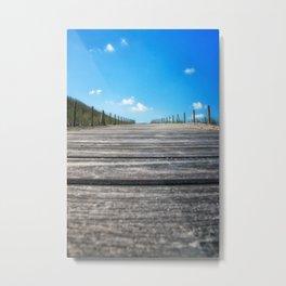 The Boardwalk Metal Print