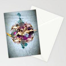 Kaleidoscope Man Stationery Cards