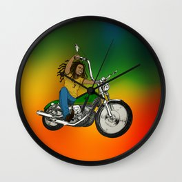 Hit The Road Bob Wall Clock