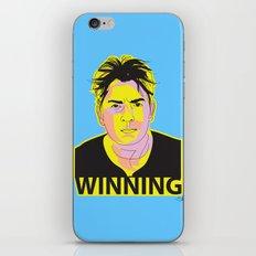 Charlie Sheen Winning_Ink iPhone & iPod Skin