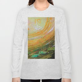 Fish in a Green Sea Long Sleeve T-shirt