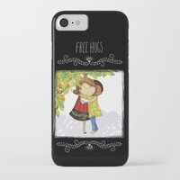 hug iPhone & iPod Cases featuring Hug by Rita Correia Illustrator