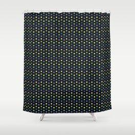 Polka Dot Brights Shower Curtain
