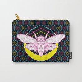 Geometric Cicada Carry-All Pouch