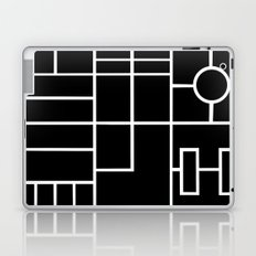 PS Grid Black Laptop & iPad Skin