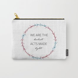 This Savage Song Quote Carry-All Pouch