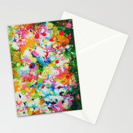 Full abstract Stationery Cards