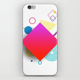 Displaced Geometry iPhone Skin