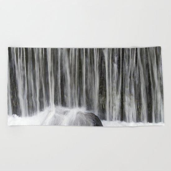 Waterfall I Beach Towel