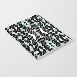 Art Deco Mint Notebook
