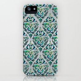 Persian Oriental  pattern abalone and pearl iPhone Case