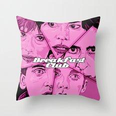 Breakfast Club Throw Pillow