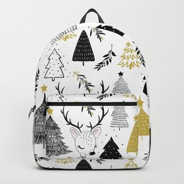 Cute christmas seamless pattern graphic design. Backpack