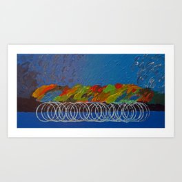 Peloton Art Print