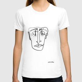 MINIMAL FACE T-shirt