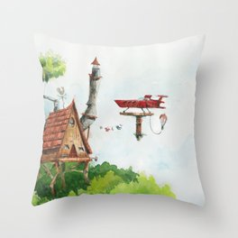 Skyhouse Throw Pillow
