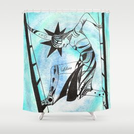 Libra - Zodiac signs series Shower Curtain
