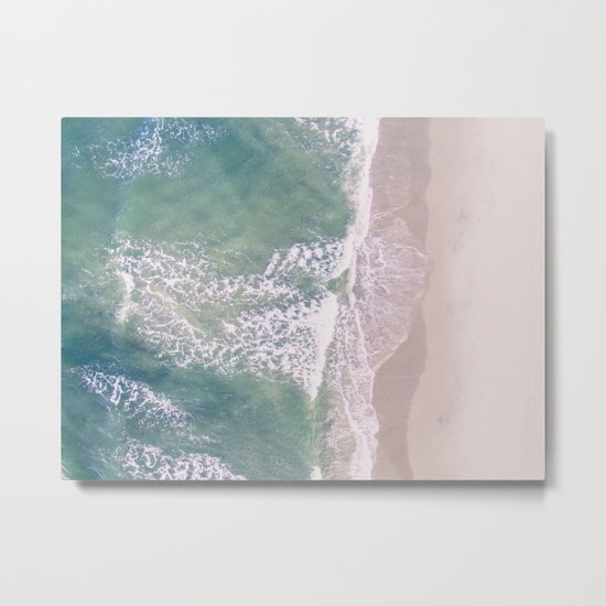 Empty Oceanside Metal Print