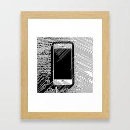 iPhone 5 Wolfram Rule 126 Framed Art Print
