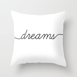 sweet dreams (2 of 2) Throw Pillow
