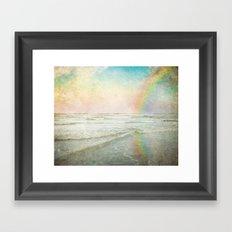 Rainbow Bright Framed Art Print