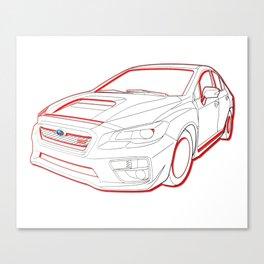 STI Fast Canvas Print